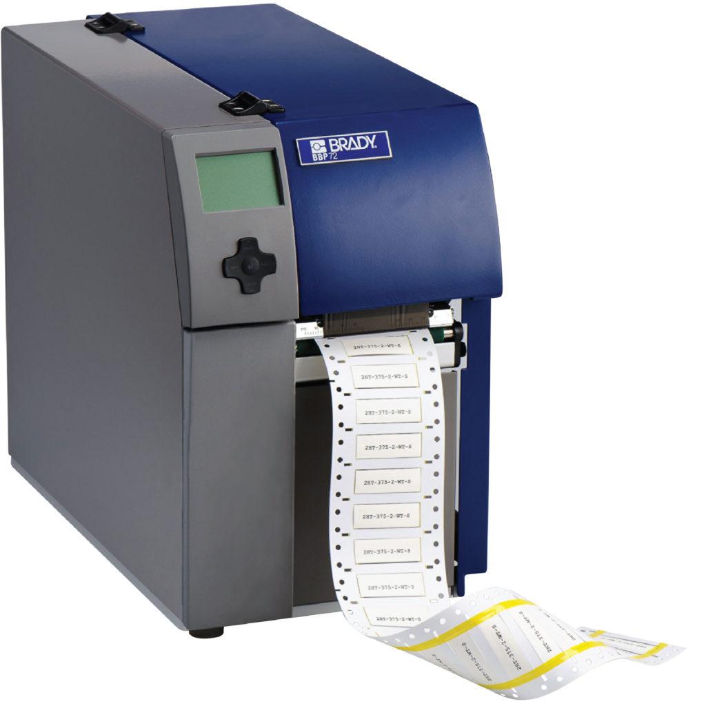 BBP-72 Dubbel zijdige krimpkous printer